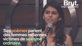 VIDEO. Pour lutter contre le sexisme ordinaire, cette jeune indienne utilise le slam (BRUT)