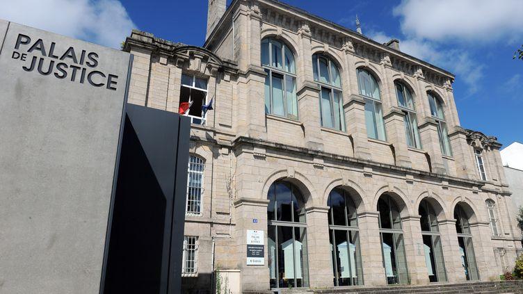 Le palais de justice de Vannes (Morbihan). (FRED TANNEAU / AFP)