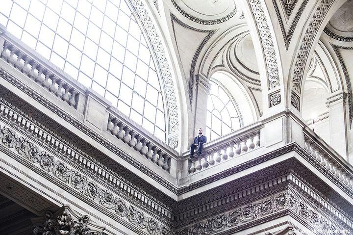 Yoann Bourgeois au Panthéon  (Géraldine Aresteanu)