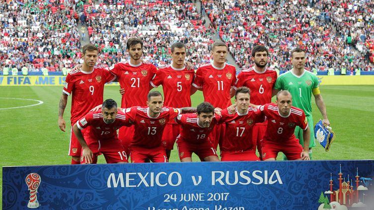 L'équipe nationale russe lors de la Coupe des Confédérations (ALEXEY NASYROV / ANADOLU AGENCY)
