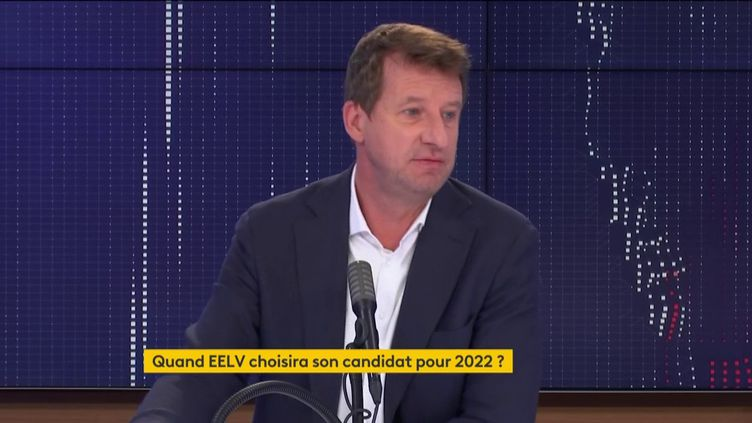 Yannick Jadot, députée européen EELV, invité de franceinfo, lundi 21 septembre. (FRANCEINFO / RADIOFRANCE)