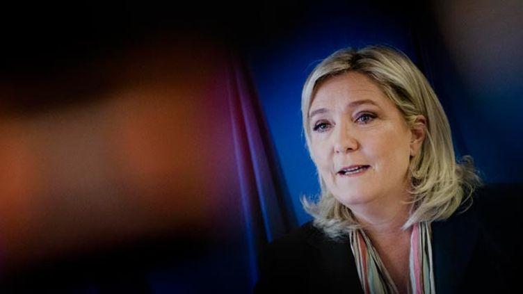 (Le séminaire du FN était présidé par Marine Le Pen © maxPPP)