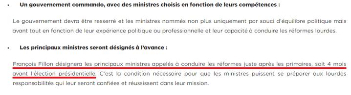 """La page """"renouvellement"""" du site de campagne de François Fillon, le 22 décembre 2016. ((FILLON2017.FR / FRANCEINFO))"""