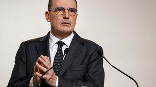 Le Premier ministre, Jean Castex, le 10 décembre 2020, à Paris. (THOMAS SAMSON / AFP)