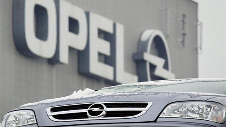 Un accord sur un plan de restructuration avec les syndicats européens d'Opel, le 21 mai 2010. (AFP - DDP - Oliver Stratmann)