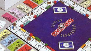 Le Monopoly Edition européenne, un collector datant de 1991, où l'on payait avec des ECU,monnaie unique déjà imaginée par Monopoly. (© DR)