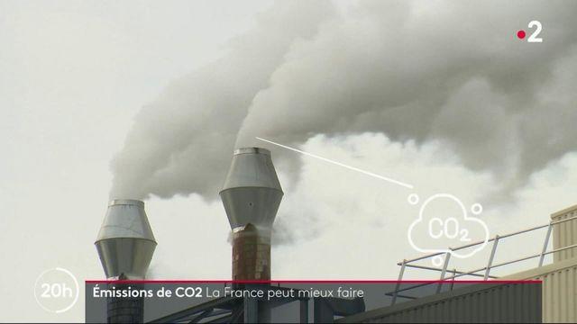 Émissions de CO2 : la France peut encore mieux faire