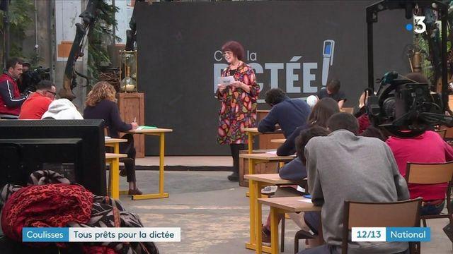 Grande dictée de France 3 : en coulisses avec les participants et les maîtres de cérémonie