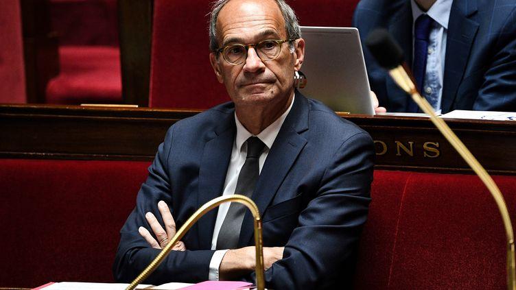 Eric Woerth,député LR de l'Oise et président de la Commission des finances. (ANNE-CHRISTINE POUJOULAT / AFP)