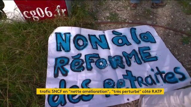 Grève de la SNCF contre la réforme des retraites : un mois de grève à Nice