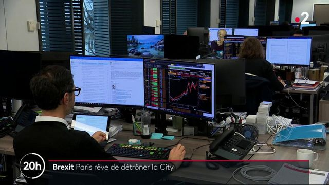 Brexit : les traders quittent la City pour Paris