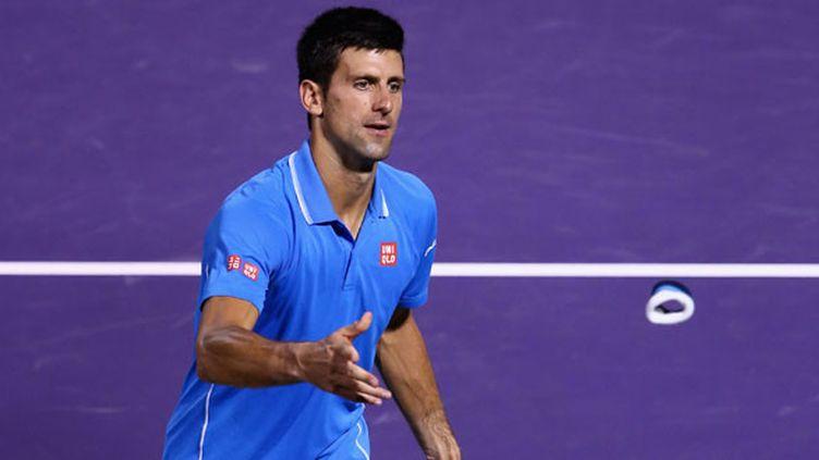 Le joueur serbe, Novak Djokovic