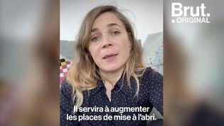 """VIDEO. """"On ne vit pas tous le même confinement"""" : l'appel aux dons de Blanche Gardin pour la Fondation Abbé Pierre (BRUT)"""