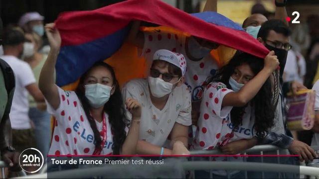 Tour de France : premier test réussi