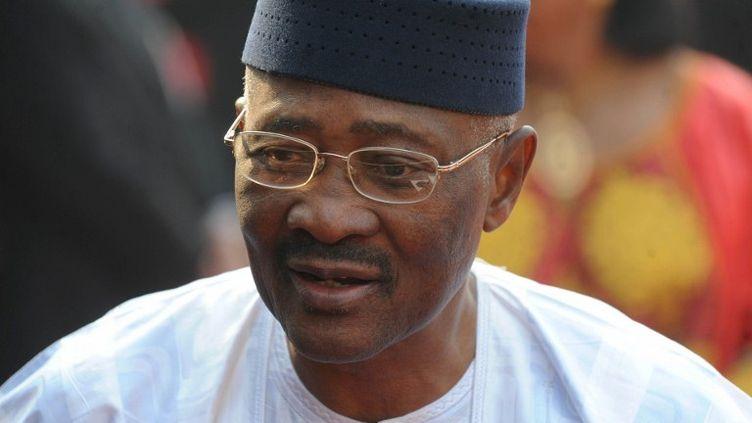 L'ex-président Amadou Toumani Touré à New Delhi en Inde le 11 janvier 2012. (RAVEENDRAN / AFP)