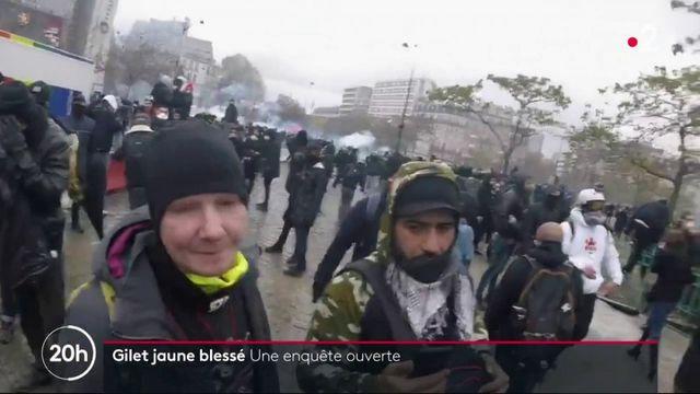"""""""Gilet jaune"""" touché par un projectile : que s'est-il passé samedi lors de la manifestation ?"""