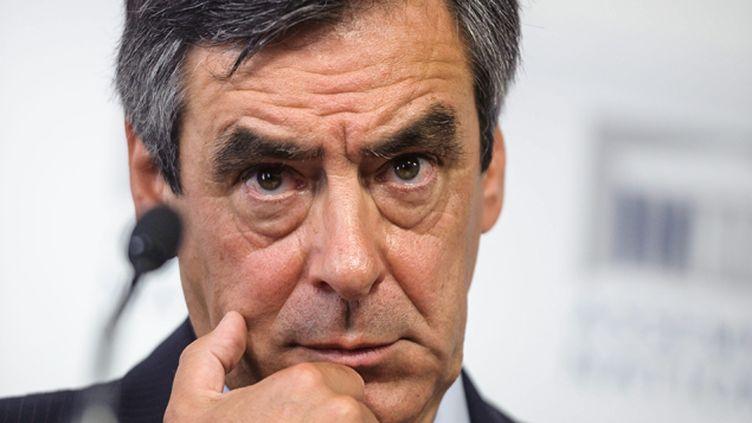 """(François Fillon entend porter plainte contre les auteurs de """"Sarkozy m'a tuer"""" pour diffamation © Maxpp)"""