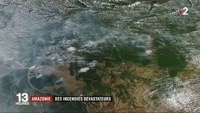 Amazonie : des incendies dévastateurs plongent São Paulo dans le noir