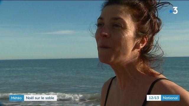 Hérault : Noël sur le sable