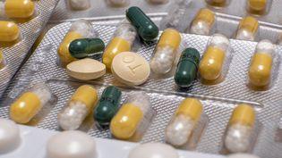 Des plaquettes de médicaments. (MARK FAIRHURST / MAXPPP)