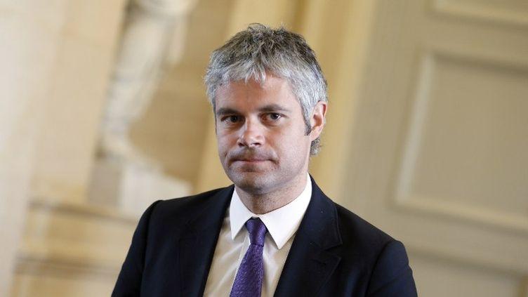 Laurent Wauquiez, le 2 avril 2013, à Paris. (KENZO TRIBOUILLARD / AFP)