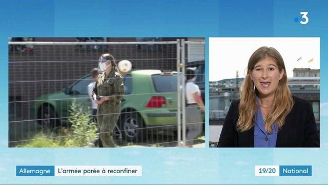 Allemagne : l'armée prête à agir en cas de reconfinement