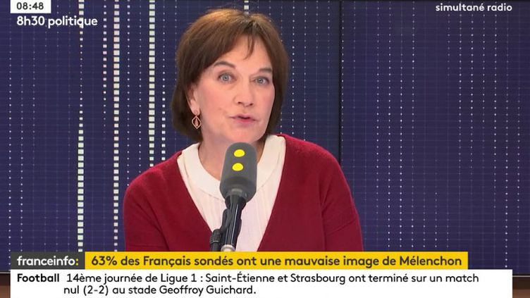 La sénatrice PS de l'Oise, Laurence Rossignol, invitée de franceinfo le 25 novembre 2017. (RADIO FRANCE)