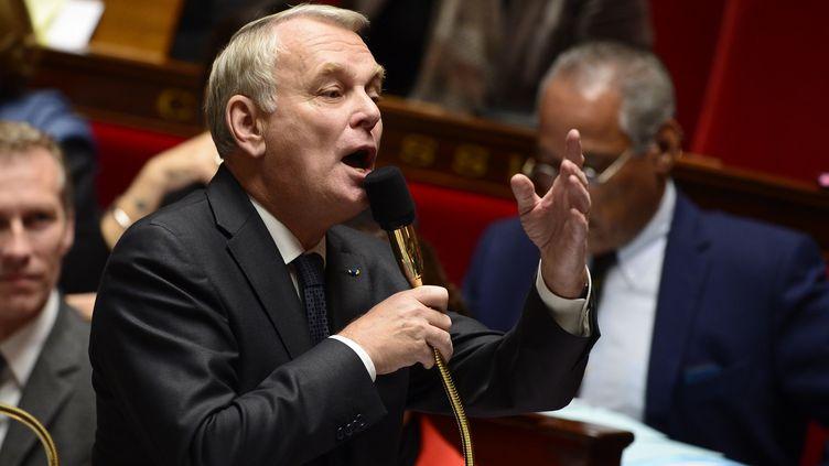 Le Premier ministren Jean-Marc Ayraultn à l'Assemblée nationalen le 26 novembre 2013. (ERIC FEFERBERG / AFP)