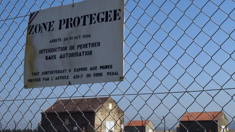 Le site militaire de Miramas, dans les Bouches-du-Rhône, le 7 juillet 2015. (ANNE-CHRISTINE POUJOULAT / AFP)