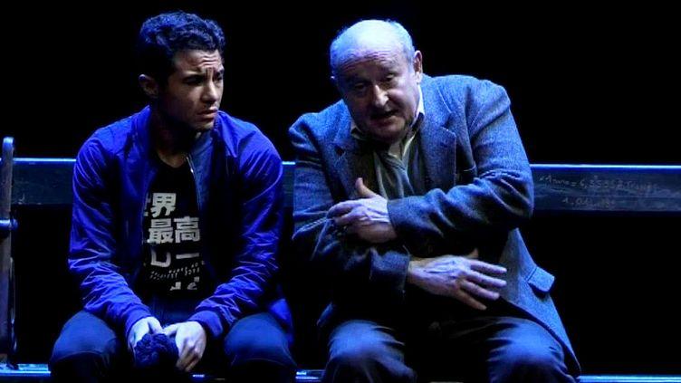 Samy Seghir et Michel Jonasz  (Capture d'image France3/Culturebox)