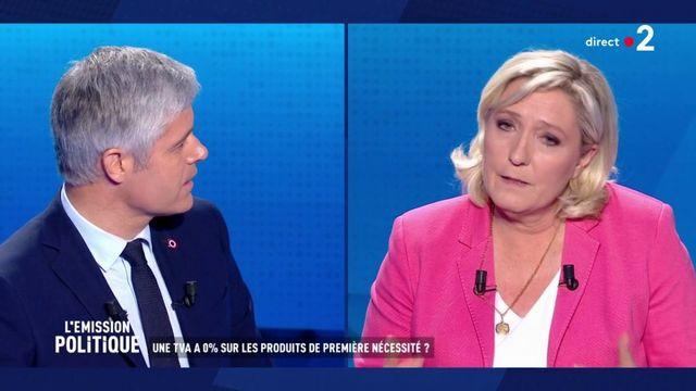 Quand Wauquiez rappelle à Le Pen son débat du second tour de la présidentielle