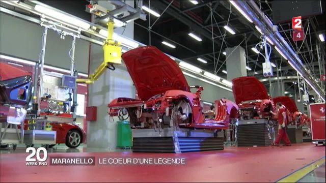 Automobile : les secrets de la légende italienne Ferrari