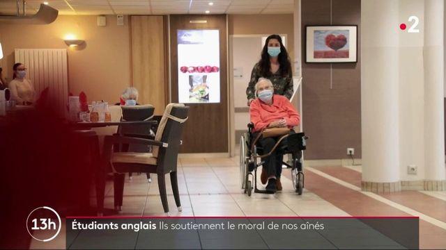 Solidarité : une association met en relation des étudiants anglais avec des seniors français isolés