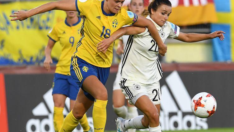 L'Allemagne et la Suède se sont séparées sur un match nul et vierge pour leur entrée dans la compétition (CARMEN JASPERSEN / DPA)
