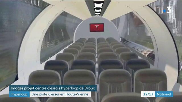 Hyperloop : une piste d'essai en Haute-Vienne