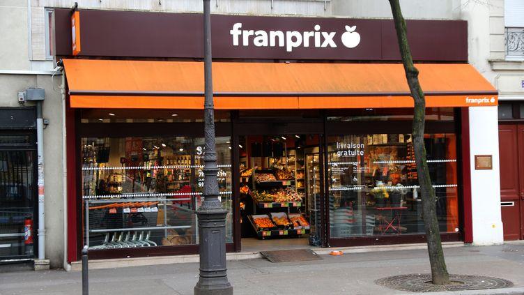 A Paris, un magasin Franprix est désormais ouvert toute la nuit dans le quartier des Halles. (MAXPPP)