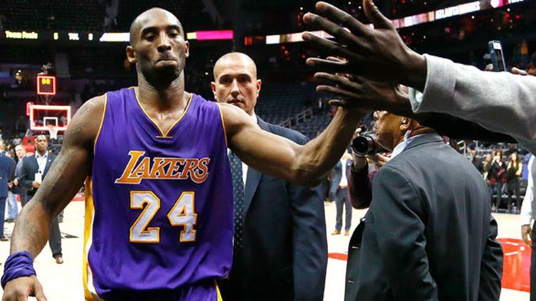 La star des Los Angeles Lakers, Kobe Bryant