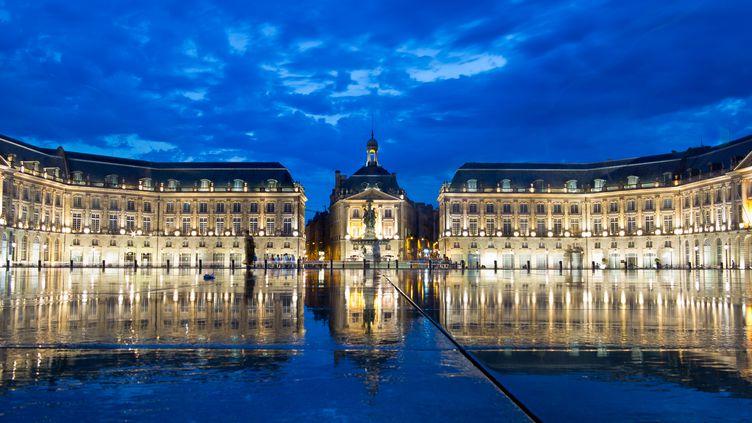 La place de la Bourse de Bordeaux, le 14 août 2012 (MAXPPP)