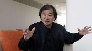 Shigeru Ban à New York en 2014  (Richard Drew /AFP)