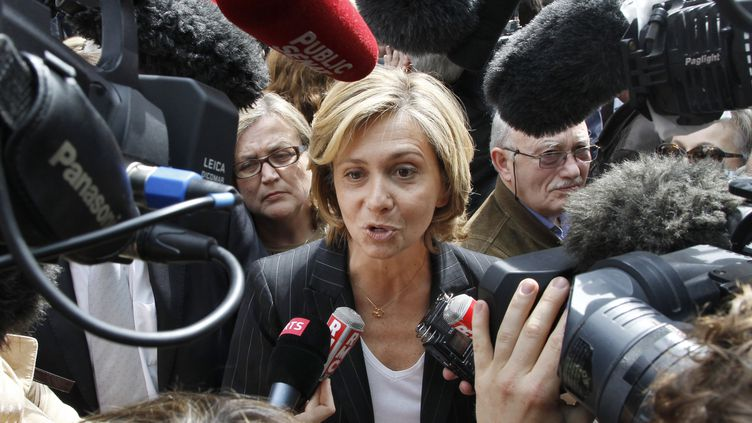 Valérie Pécresse, députée UMP des Yvelines, le 7 mai 2012 à Paris. (FRANCOIS GUILLOT / AFP)