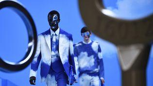 Louis Vuitton pap automne-hiver 2020-21 à la Paris Fashion Week, le 16 janvier 2020 (ANNE-CHRISTINE POUJOULAT / AFP)