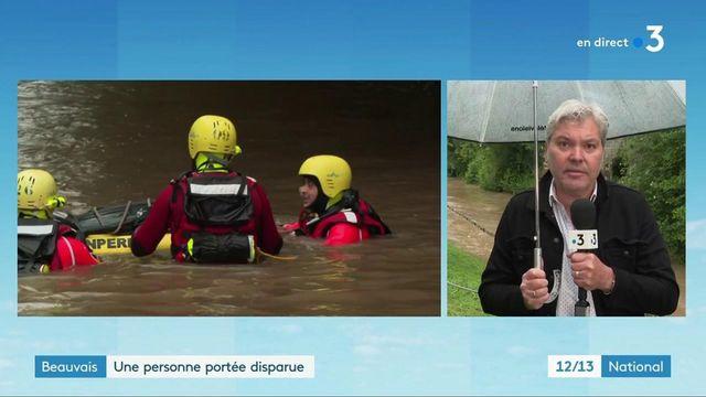 Oise : inondations torrentielles à Beauvais, une personne disparue