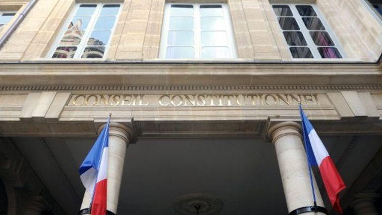 Le conseil constitutionnel (AFP)