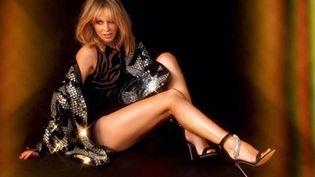 Kylie Minogue sort son 15e album studio ce vendredi. (DR)