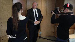 Patrick Puy, PDG de Vivarte (FRANCE 2 / FRANCETV INFO)