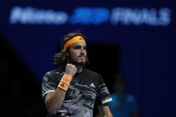Stefanos Tsitsipas (ADRIAN DENNIS / AFP)
