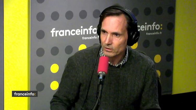 Jacques Monin,directeur de la cellule investigation de Radio France, le 22 mai 2019. (RADIO FRANCE / FRANCEINFO)