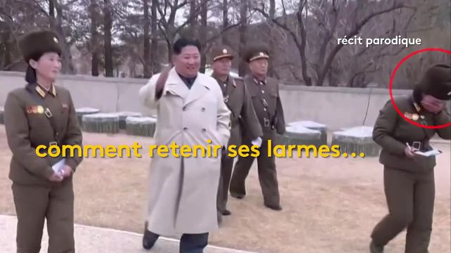 Corée du Nord : Kim Jong-un se met en scène à la télévision