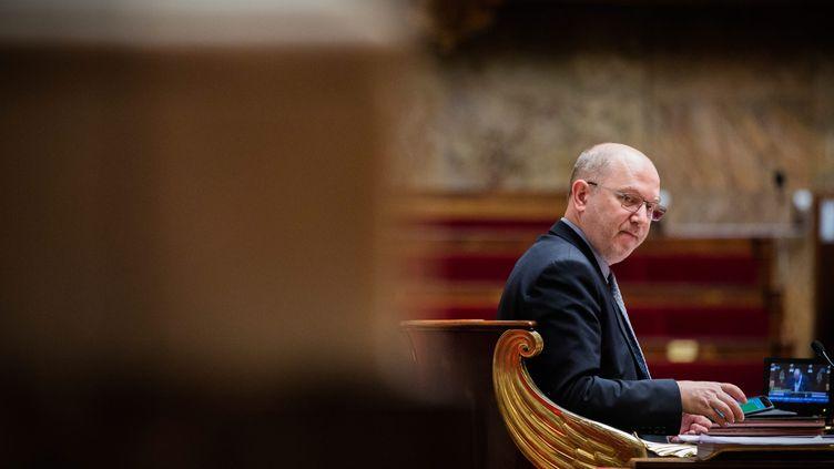 L'ancien vice-président de l'Assemblée nationale Denis Baupin au palais Bourbon à Paris, le 17 mars. (MAXPPP)