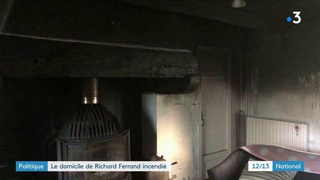 Le domicile de Richard Ferrand incendié